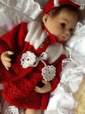 Reborn Dolls Clothes Christmas Outfit 18-20 Inch Doll.