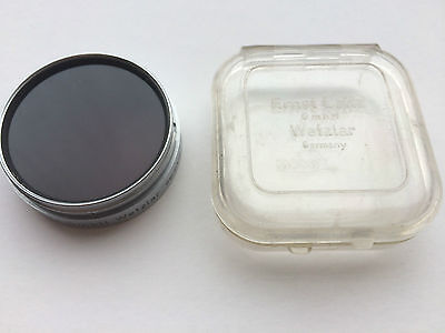 LEITZ A very unusual E41 bayonet mount filter for SUMMARIT marked I.R