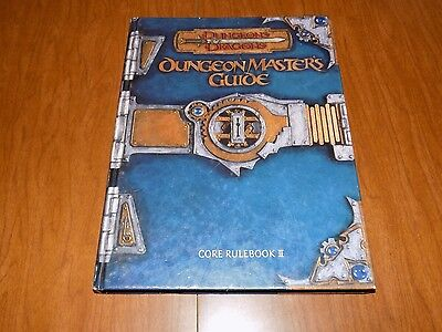 Dungeons & Dragons - Dungeon Masters Guide - Core Rulebook II - 2000 First Print