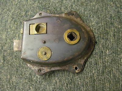 Vintage reclaimed rim latch -stripped of paint - in good working order