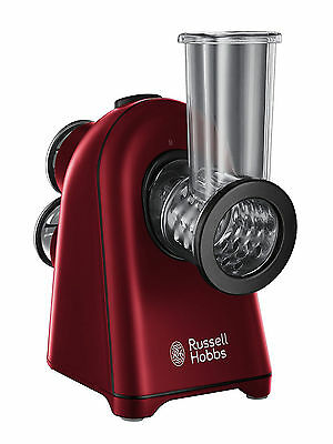 Russell Hobbs 20346 Rosso Slice and Go Slicer, 150 W - Red