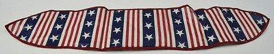 Longaberger 1998 All American Handle Tie Collectible Fabric Decor Accent
