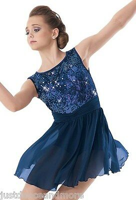 New Figure Ice Skating Baton Twirling Dress Costume Adult And Child Dance