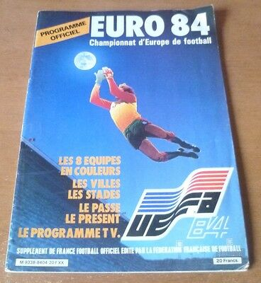 1984 - European Championship Tournament Programme