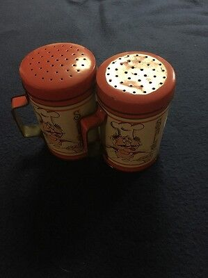 2 Large Salt Shakers