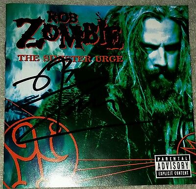 Rob Zombie-The Sinister Urge CD (Signed)