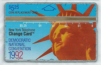 USA - NYNEX D4 5,25 $ Democratic National Convention - Liberty - VOLL MINT