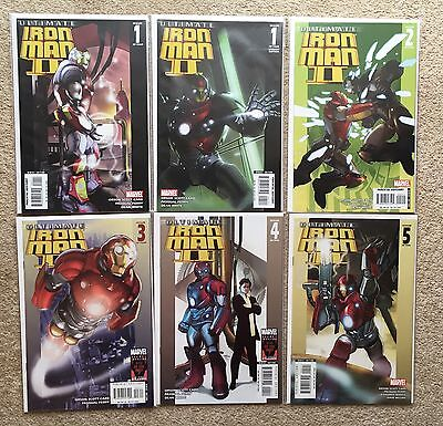 Ultimate Iron Man II, Volume/Vol 2, 1-5 + Dell'otto Variant 2007