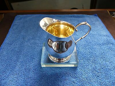 Sterling Creamer By Poole