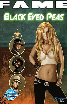 Fame Black Eyed Peas SOLD OUT comic book Fergie  MINT Will.i.am