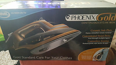 Phoenix Gold Continuous Steam Iron