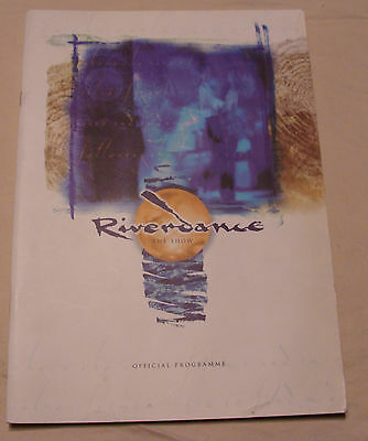 Riverdance Souvenir Official Programme Brian Dunphy Printed in UK