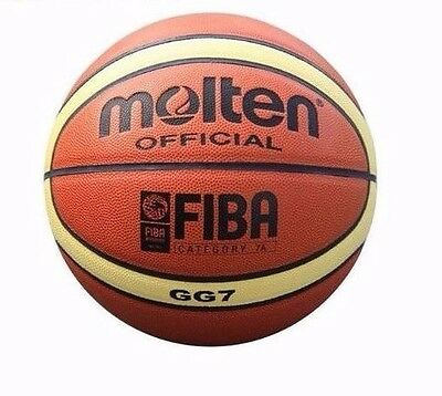 Amazing ball - GG7 MOLTEN FIBA basketball, size 7 - free ּּּּand fast delivery!!