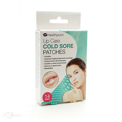 Healthpoint Lip Care Cold Sore Patches 14 Pack