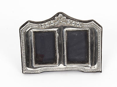 Vintage Stunning Double Sterling Silver Photo Frame