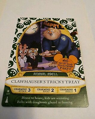 Mickey's Not So Scary Halloween Party Sorcerers of the Magic Kingdom Card