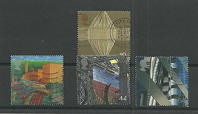 GB 1999  Millenium series - The Workers Tale   fine used set