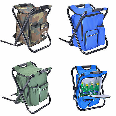 Portable Folding Outdooor Fishing Camping Chairs Backpack Insulated Bags Pack