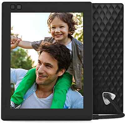 Nixplay Seed 8 inch WiFi Digital Photo Pictures Frame Present Gift Modern, Black
