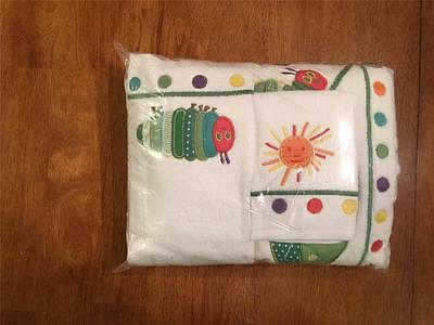 Pottery Barn Kids The Very Hungry Caterpillar Towel Set