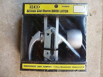Vintage ilco TK200SP Storm Screen Door Latch NOS USA