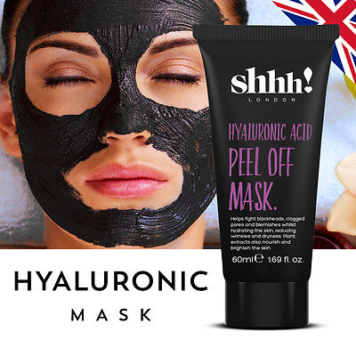 Black Mask 60ml Peel Off Blackhead Remover Mask Skin Purifying Face Mask