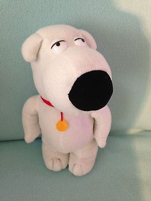 """Family Guy Brian Soft Toy Dog Approx 12"""""""