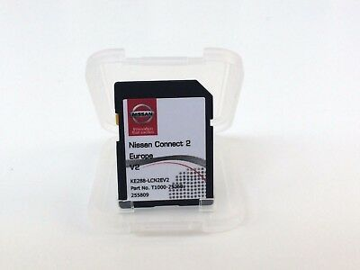 Genuine Nissan Connect 2 Sat Nav Sd Card Latest 2016/17 Maps!!!