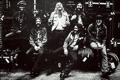 Allman Brothers Band Fillmore East  Poster 20 X 30