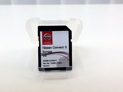 Genuine Nissan Connect 3 / Sd Card Latest Map Update 2016/2017 Uk And Europe