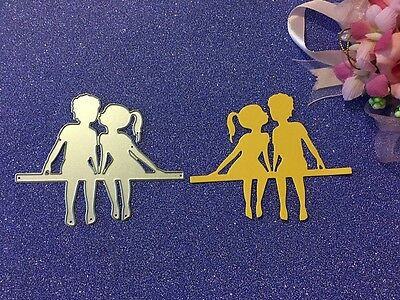 New Metal Die Cutter Cardmaking Lover Cutting Die Girl and Boy DC1288