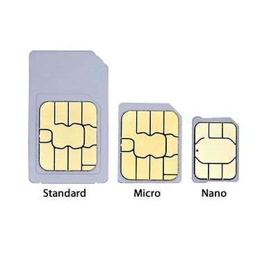 Three Pay As You Go SIM Card With £10 Credit Preloaded
