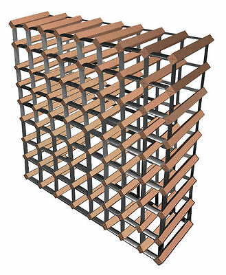 72 Bottle Borders Timber Wine Rack - The Wine Storage Solution -100% AUSTRALIAN