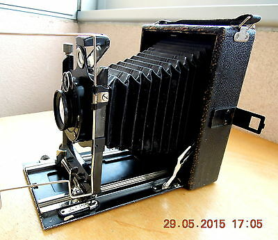 Thowe folding a plaques circa1920.Rare folding vintage plate camera from Germany