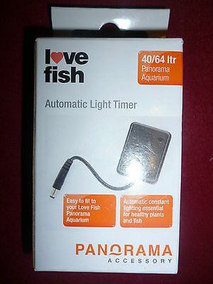 2  Of   I Love Fish  Automatic Light Timers-       2 Timers