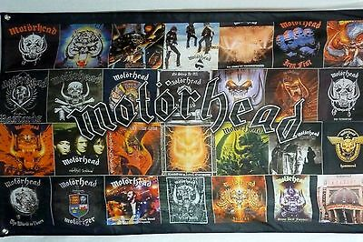 Motorhead Album covers LARGE 3x5 polyester poster banner