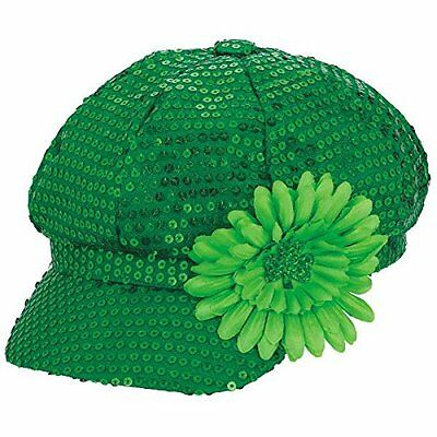 St. Patrick's Day Sequin Hat (A250304)