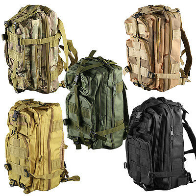 Outdoor Multifunctional Sports Camping  Hiking Bag Military Tactical Backpack ZD
