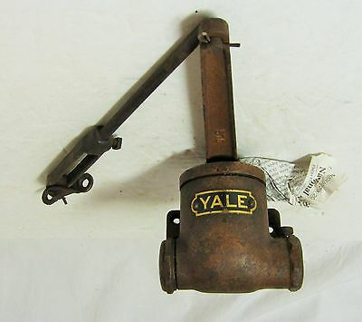 Vintage Yale Industrial Cast Iron Door Closer No. 570