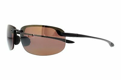 New Maui Jim H407-02 Ho'okipa Sunglasses, Black Frame, Bronze 64mm Lenses
