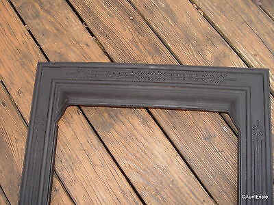 Antique Fireplace Surround Cast Iron Simple Design