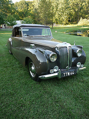 1951 Other Makes DB-18 Special Sports Barker Convertible 1951 Daimler B-18 Special Sports Barker Convertible