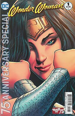 Wonder Woman 75Th Anniversary Special #1 Variant Cover By Liam Sharp
