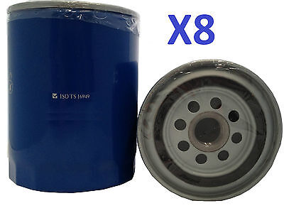 8x Oil Filter Suits Z9 FORD TOYOTA MAZDA COMMER LANDROVER MITSUBISHI