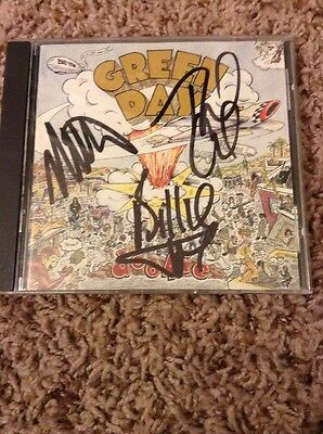 Green Day Autographed Dookie CD Double Signed Billie Joe Cool