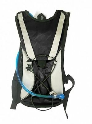 Bag Water Hydration Backpack Bladder Hiking Bag Pack Camping Rucksack Cycling 2L