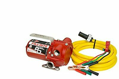 Fill-Rite RD1212NN DC Rotary Vane Pump, 12 GPM, 10' Quick Connect Power Cord wit