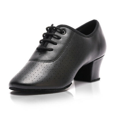 Genuine Leather Latin Dance Shoes Female Adult Teacher Shoes Modern Dance Shoes