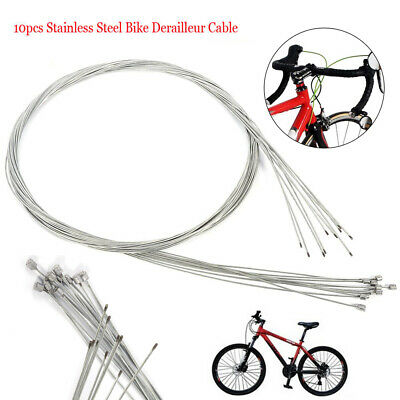 10pcs/lot MTB Shift Shifter Derailleur Gear Stainless Steel Inner Cable Wire