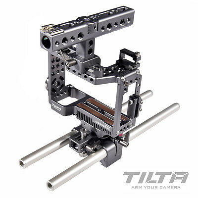 TILTA ES-T27-A Sony ILCE-6300 a6300 a6500 Camera rig Cage baseplate +cooling fan